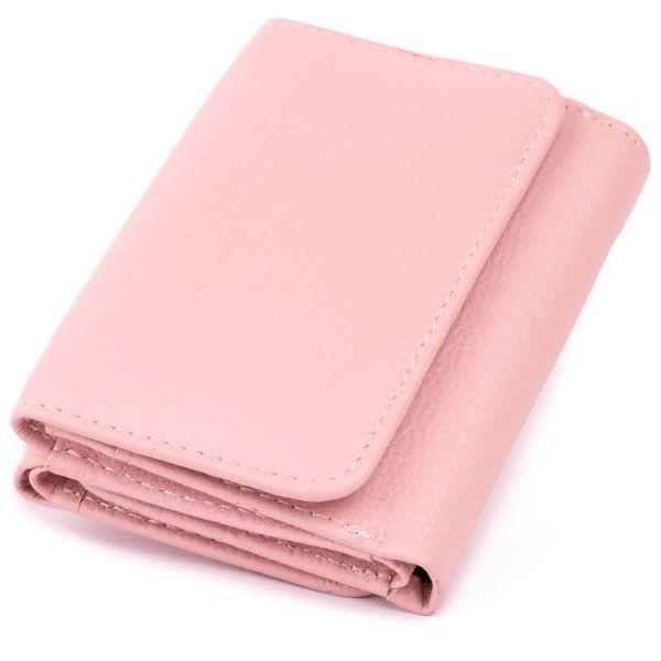 Компактный кошелек женский ST Leather 19255 Розовый