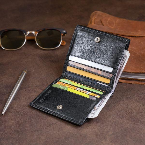 Компактный кошелек женский ST Leather 19256 Черный