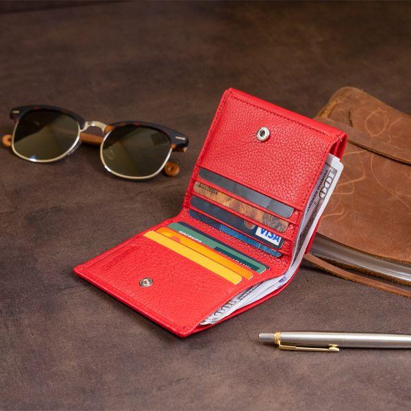 Компактний гаманець жіночий ST Leather 19259 червоний
