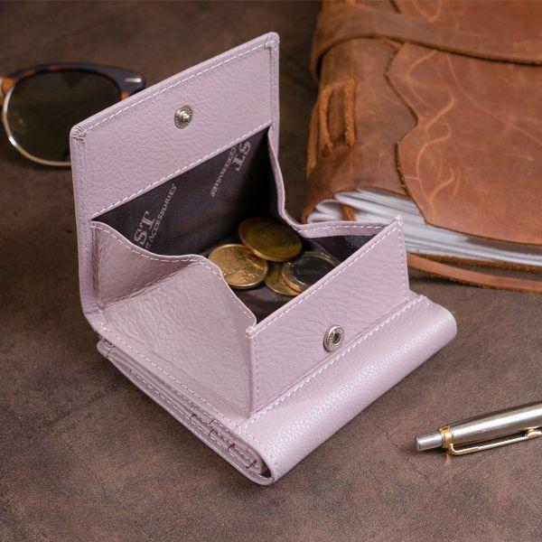 Компактный кошелек женский ST Leather 19260 лиловый