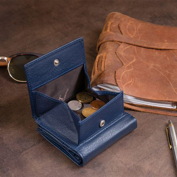 Компактный кошелек женский ST Leather 19261 синий