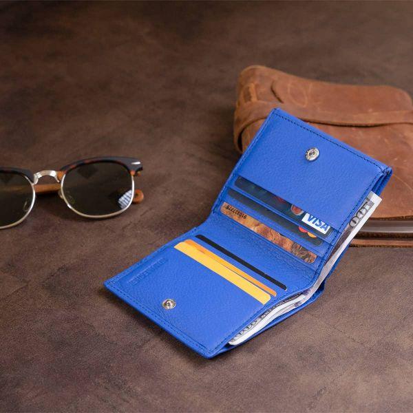 Компактный кошелек женский ST Leather 19263 синий