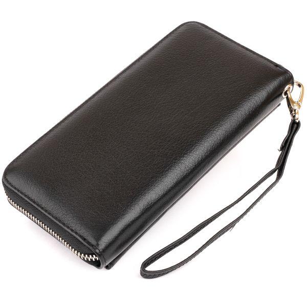 Гаманець шкіряний жіночий ST Leather 19292 чорний