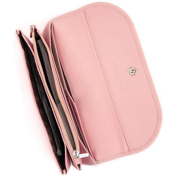Клатч зі шкіри жіночий ST Leather 19323 рожевий