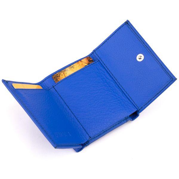 Маленьке портмоне зі шкіри унісекс ST Leather 19354 синє