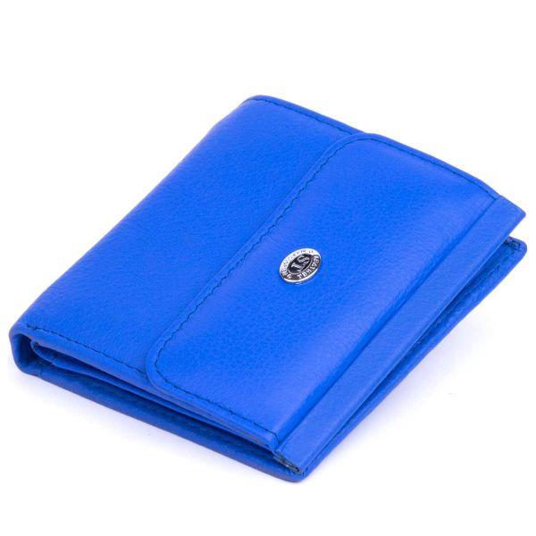 Небольшое женское портмоне ST Leather 19370 синий