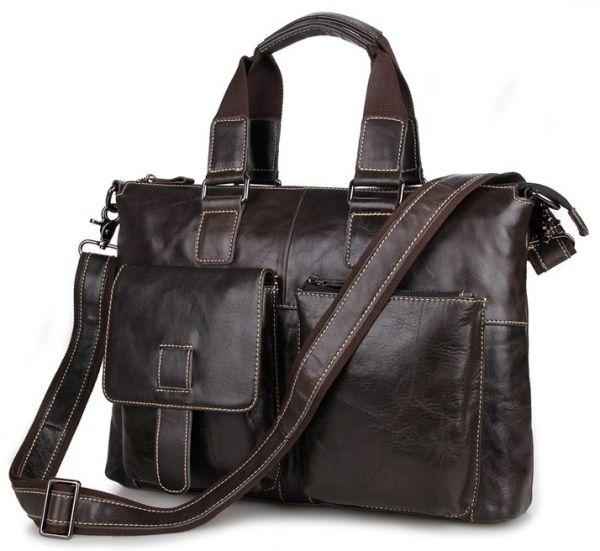 Сумка мужская Vintage 14220 коричневая