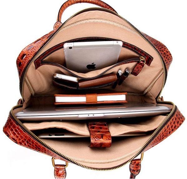 Сумка мужская Vintage 14394 коричневая