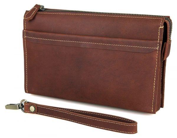 Мужской клатч Vintage 14423 коричневый