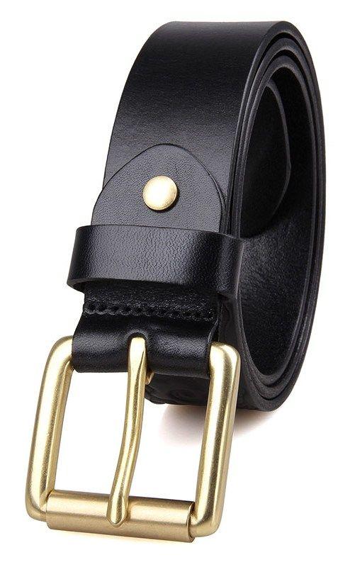 Ремень мужской Vintage 14433 черный