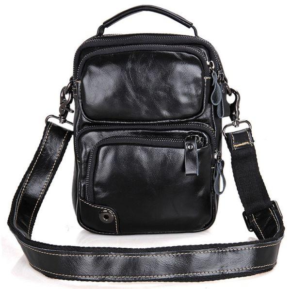 Сумка мужская Vintage 14437 черная