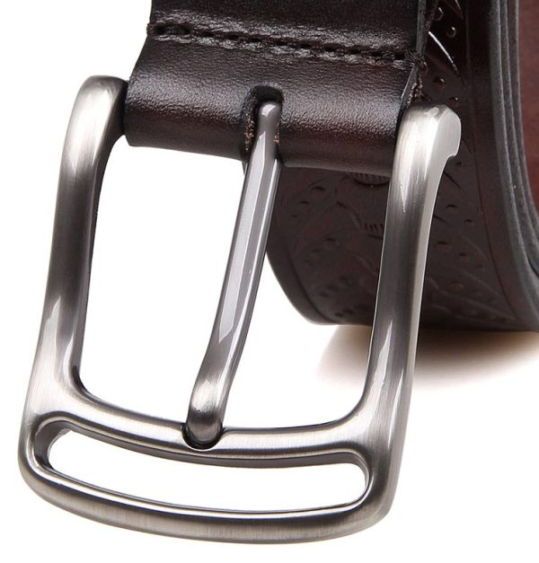 Ремень мужской Vintage 14440 коричневый