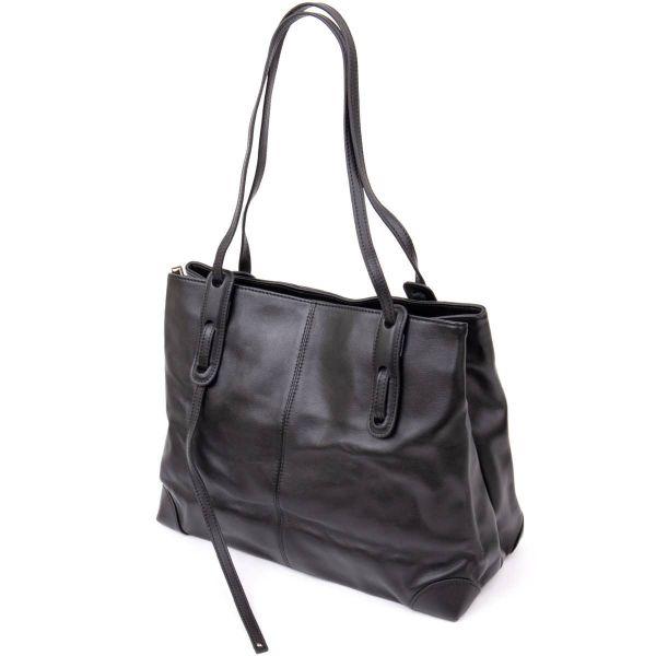 Сумка женская прямоугольной формы Vintage 20400 Черная