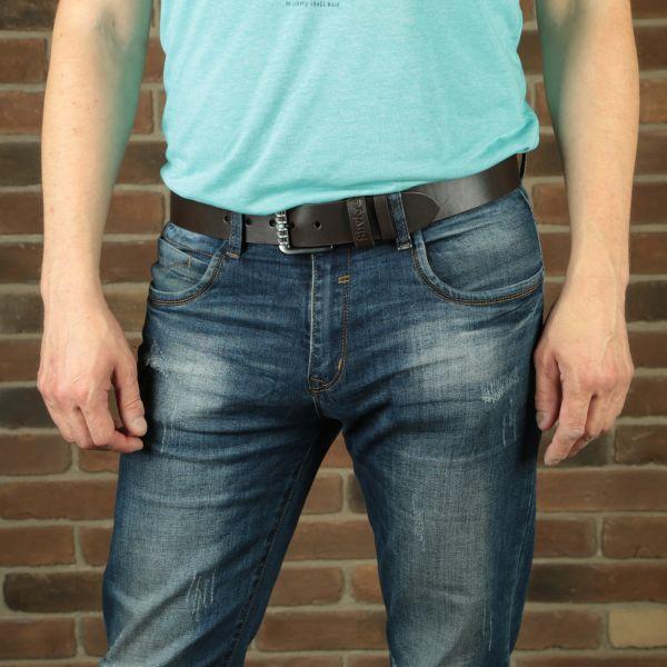 Ремень SHVIGEL мужской 11022 коричневый