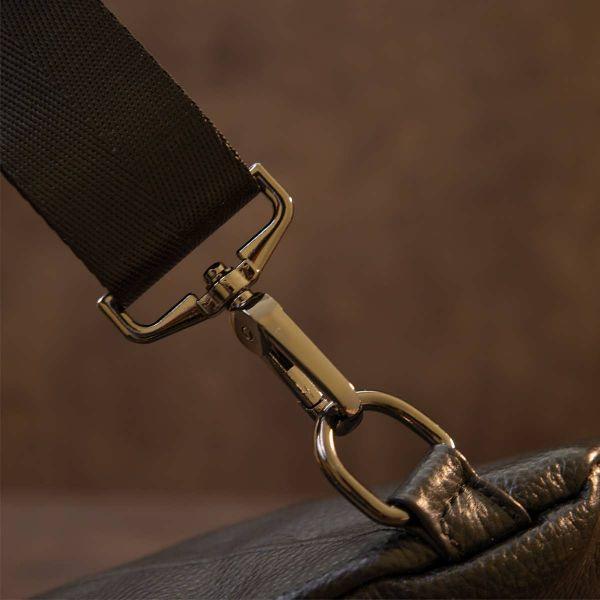 Сумка мужская флотар через плечо Vintage 20444 Черная