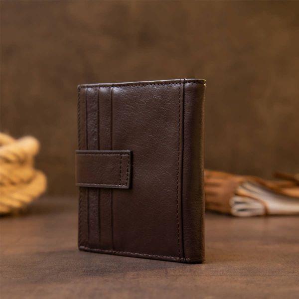 Картхолдер унисекс Vintage 20447 Темно-коричневый