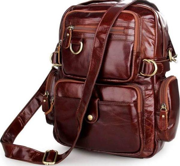 Рюкзак Vintage 14520 кожаный коричневый