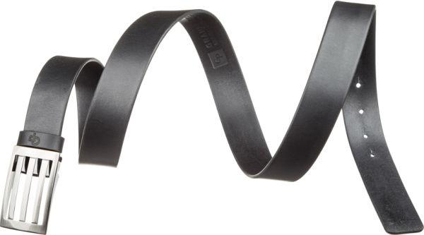 Ремень мужской Grande Pelle 11057 брючный черный