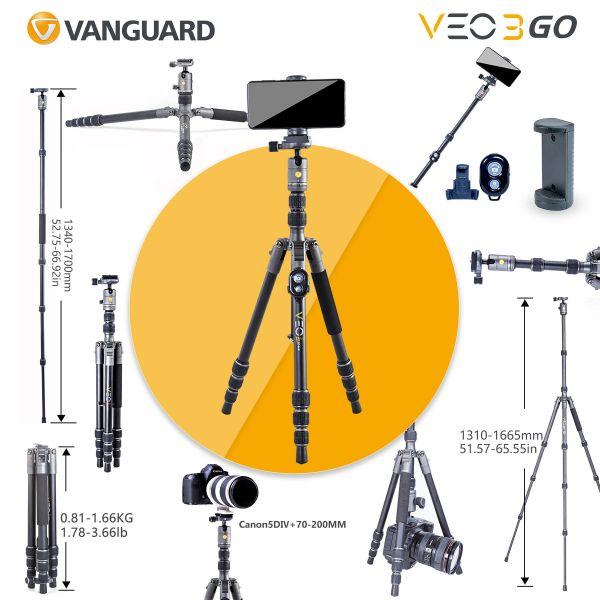 Штатив Vanguard VEO 3GO 204AB (VEO 3GO 204AB)