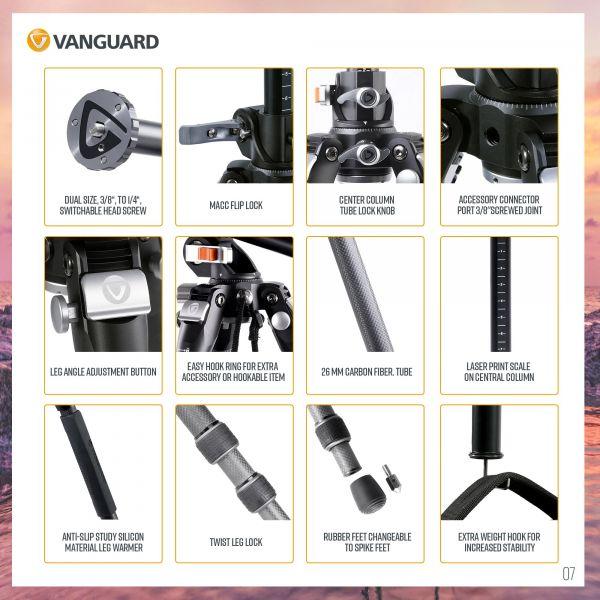 Штатив Vanguard VEO 3+ 263CB (VEO 3+ 263CB)