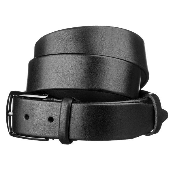 Ремень мужской SHVIGEL15268 кожаный черный