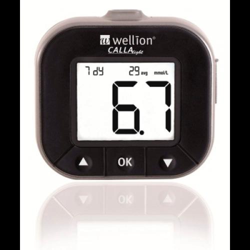 Глюкометр Wellion Calla Light Grey система для виміру рівня цукру в крові безкодова