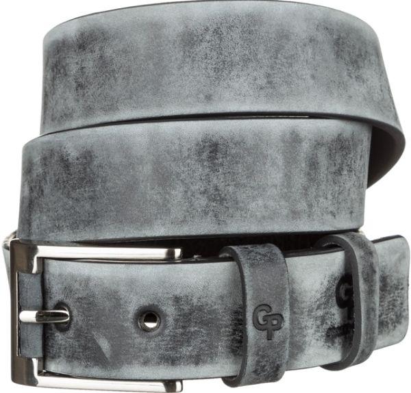 Ремень мужской Grande Pelle 11050 серый