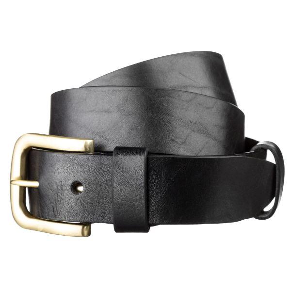 Ремень мужской SHVIGEL 15271 кожаный черный