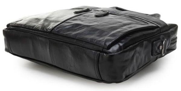 Сумка мужская Vintage 14054 для ноутбука и документов черная