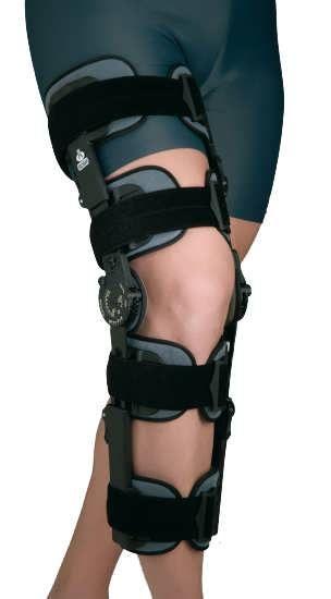 Ортез коленного сустава с ограничителем сгибания-разгибания высокий 94260 Orliman (Орлиман)