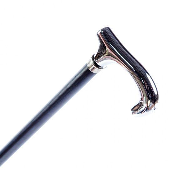 Трость Garcia ручной работы Prima бук никелированная ручка код 172