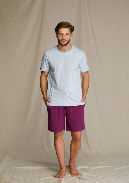 Мужская пижама Key MNS 810 A21 mix принт