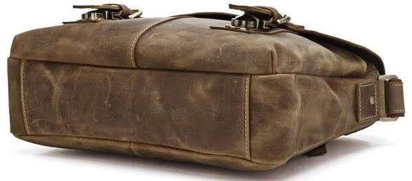 Сумка мужская Vintage 14118 винтажная кожа коричневая