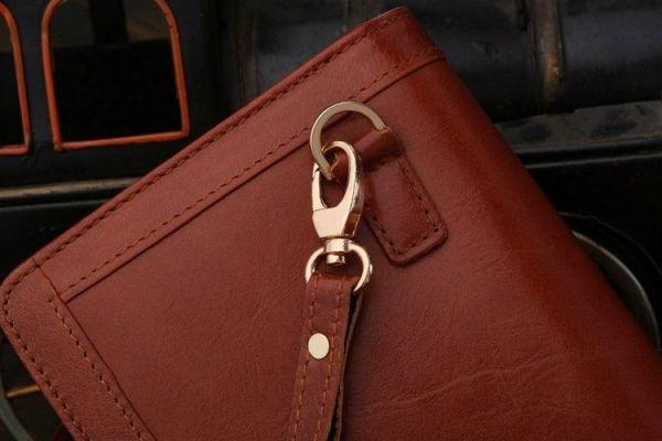 Мужской клатч Vintage 14199 коричневый