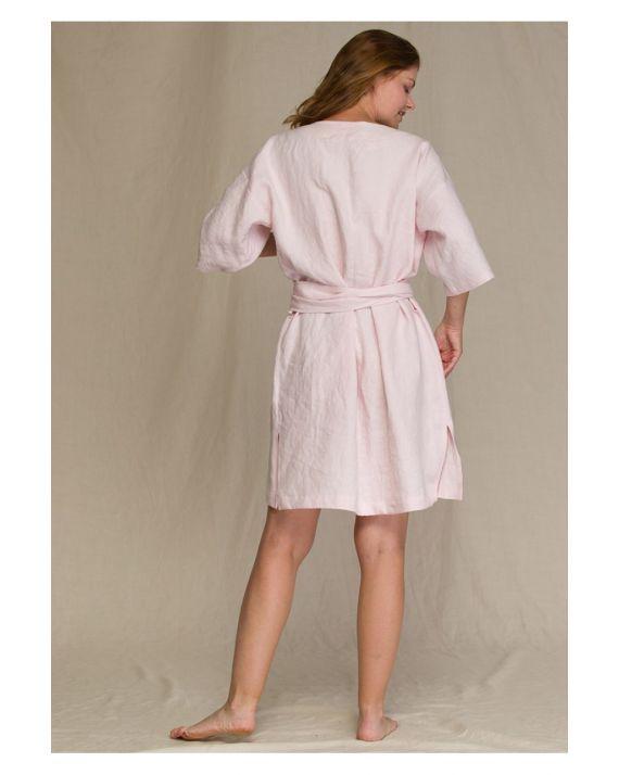 Женский халат Key LGD 106 A21 розовый