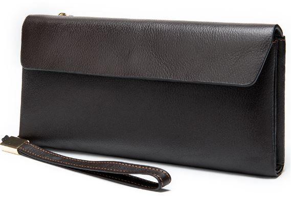 Клатч унисекс Vintage 14903 коричневый