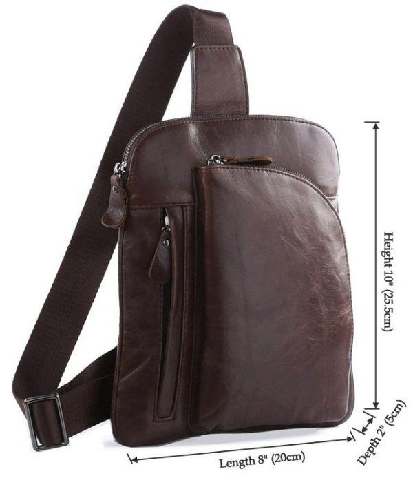 Рюкзак Vintage 14186 кожаный коричневый