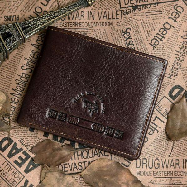 Кошелек Vintage 14116 коричневый