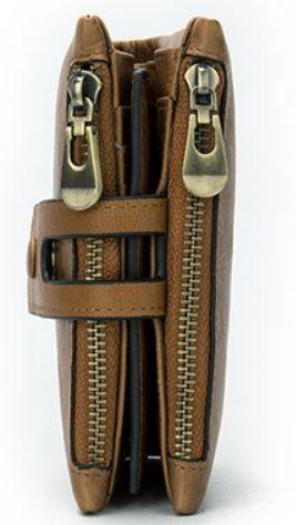 Кошелек мужской Vintage 14917 рыжий