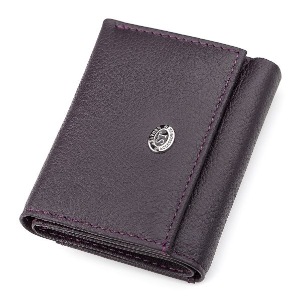 Кошелек ST Leather 18325 (ST440) фиолетовый