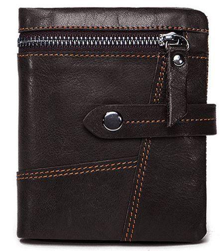 Кошелек унисекс Vintage 14942 коричневый