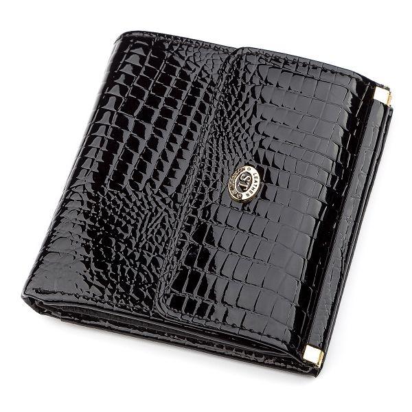 Кошелек женский ST Leather 18357 (S1101A) компактный черный