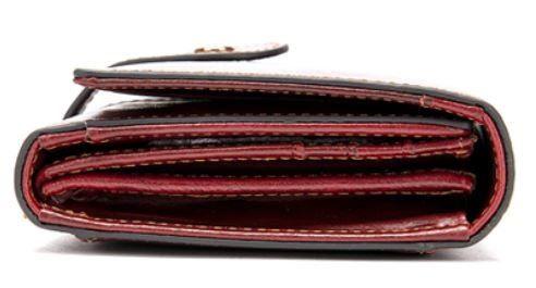 Кошелек женский Vintage 14916 бордовый