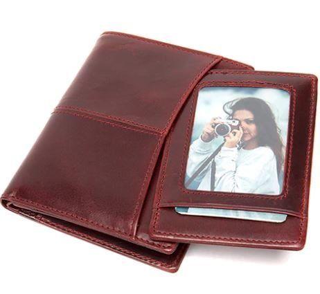Кошелек женский Vintage 14922 бордовый