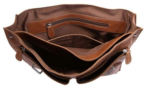 Портфель Vintage 14164 кожа коричневый