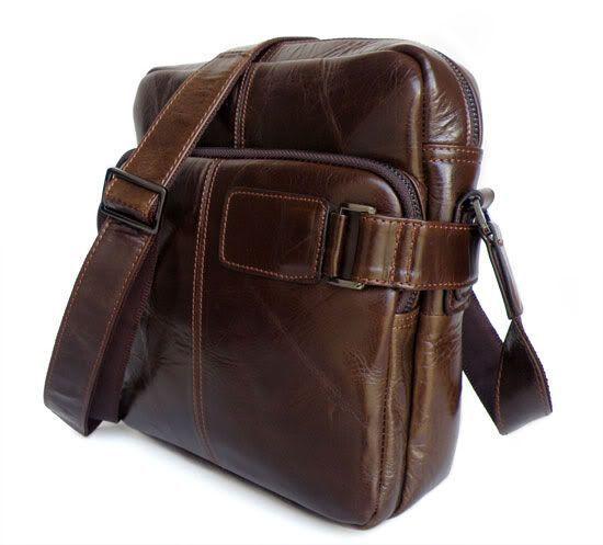 Сумка мужская Vintage 14095 коричневая