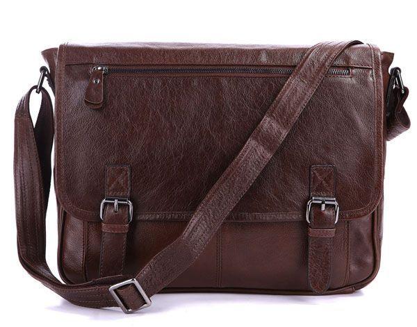 Сумка мужская Vintage 14089 под формат А4 коричневая