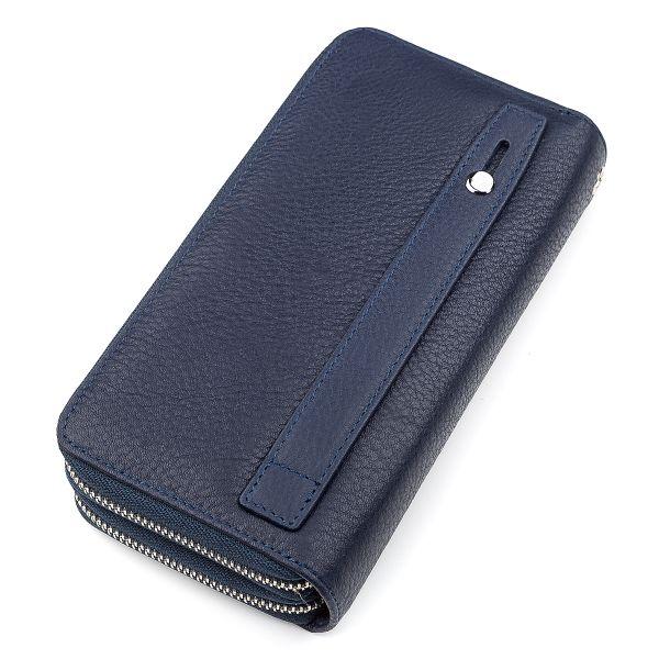 Мужской кошелек ST Leather 18452 (ST127) надежный синий