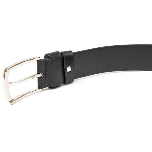Мужской кожаный ремень GRANDE PELLE 11453 черный