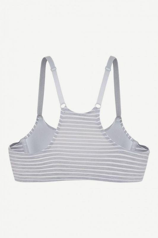 Комплект женского нижнего белья Gisela 20315 серый-белый